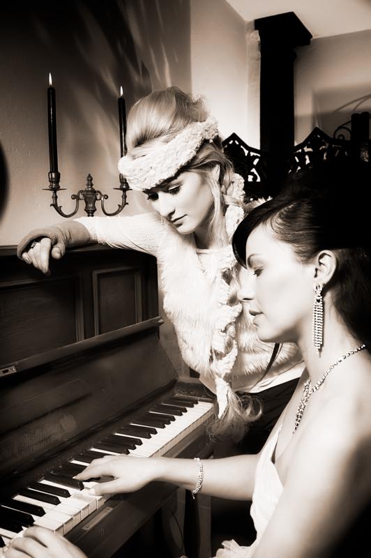 belles au piano