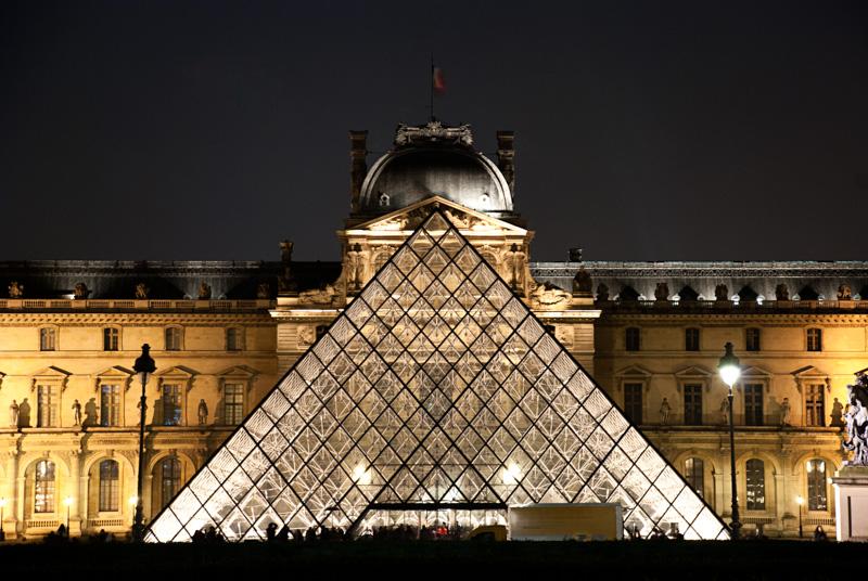 symétrie : Louvres