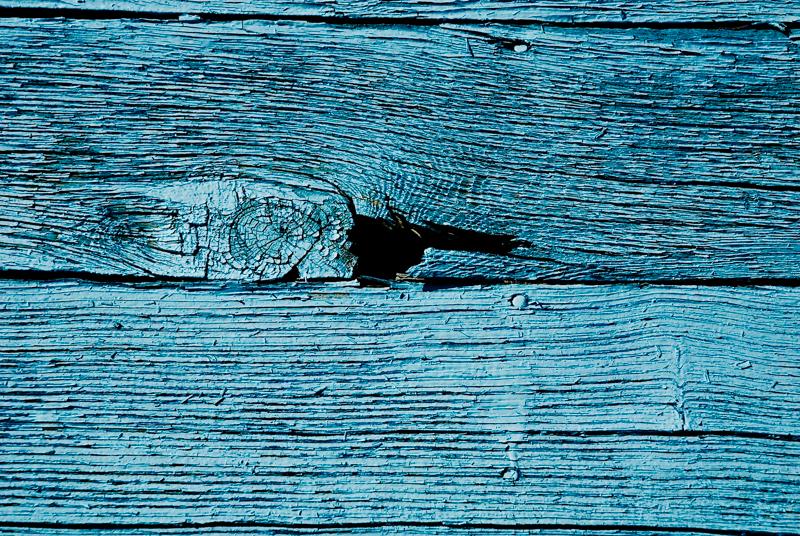 texture et photographie : porte bleue