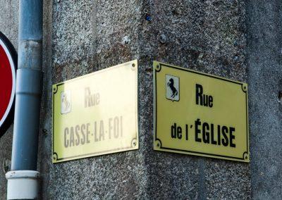 humour & photographie : rue de l'église