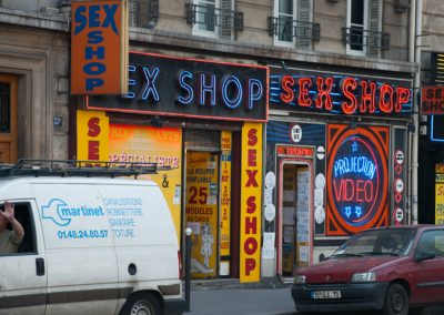humour & photographie : sex shop