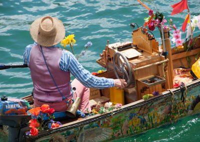 humour & photographie : bateau musical