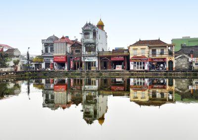 reflet Ville du Vietnam par Marc SIMON